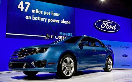 福特混合动力电动车涉嫌侵犯专利