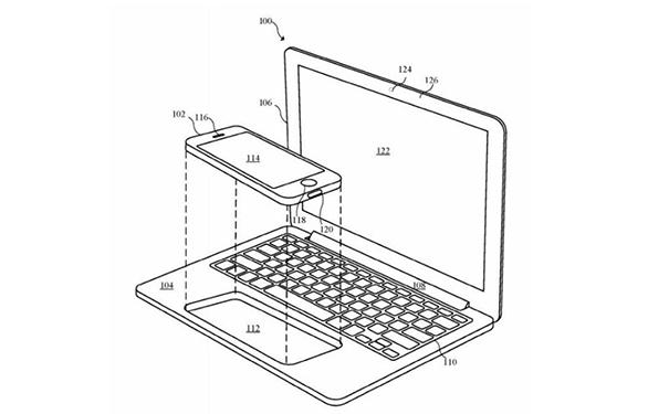 苹果黑专利:能让iPhone秒变电脑