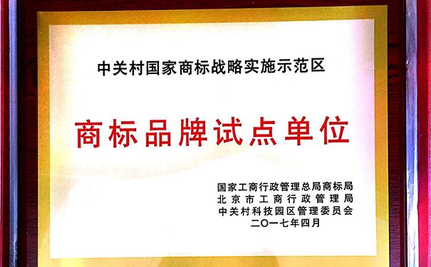 """大唐电信入选""""中关村商标品牌试点单位"""""""