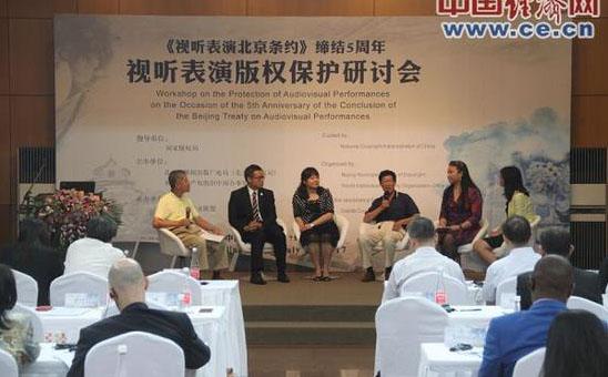 视听表演版权保护研讨会在京举行