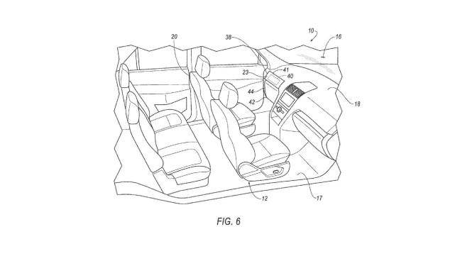 福特无人驾驶新专利曝光